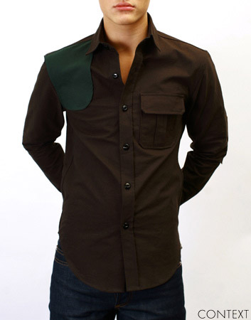 hunting_oxford_shirt_patchwork