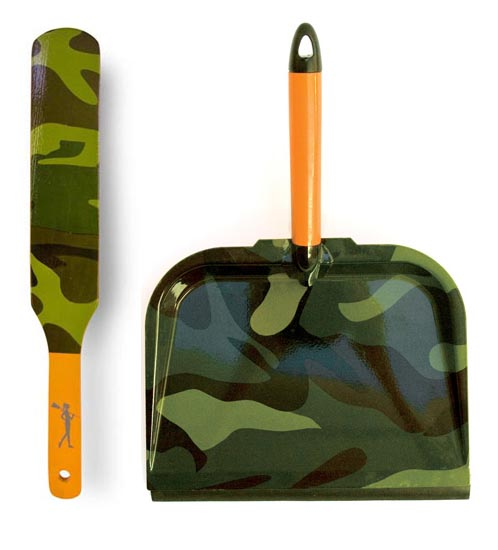 Camo Brush & Pan set